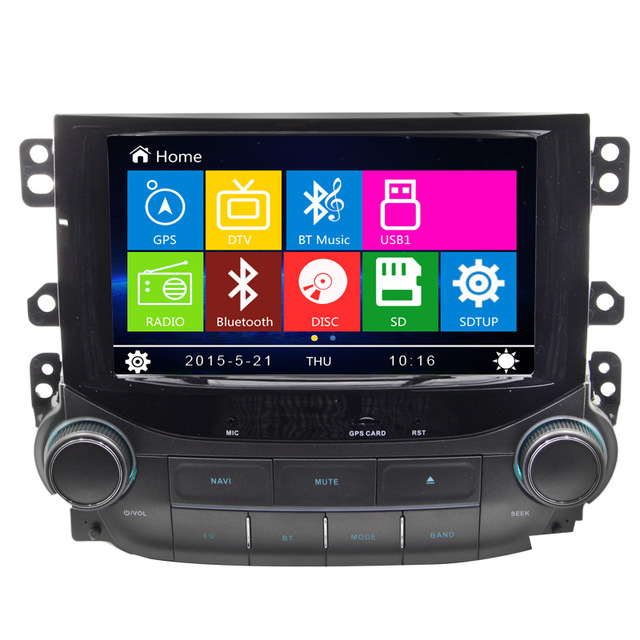 Top 7 Inch Car DVD Player GPS Navigation System For