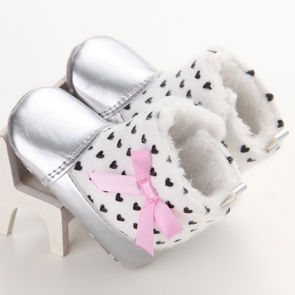 C-198 Cute Soft Sole Baby Moccasins Cotton Child Shoes Comfortable Bootie Winter Warm Infant Toddler Crib Shoes