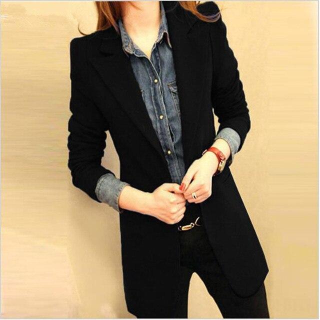 Aliexpress.com : Buy 2017 blazer women jacket slim female casual ...