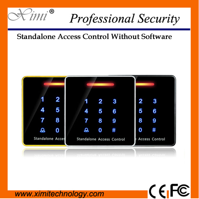 Free Shipping Smart Door Access Control Mf Card Reader Waterproof Swipe To Open Proximity Card S023 Door Access Controller аккумуляторная дрель шуруповерт bort bab 18ux2li fdk