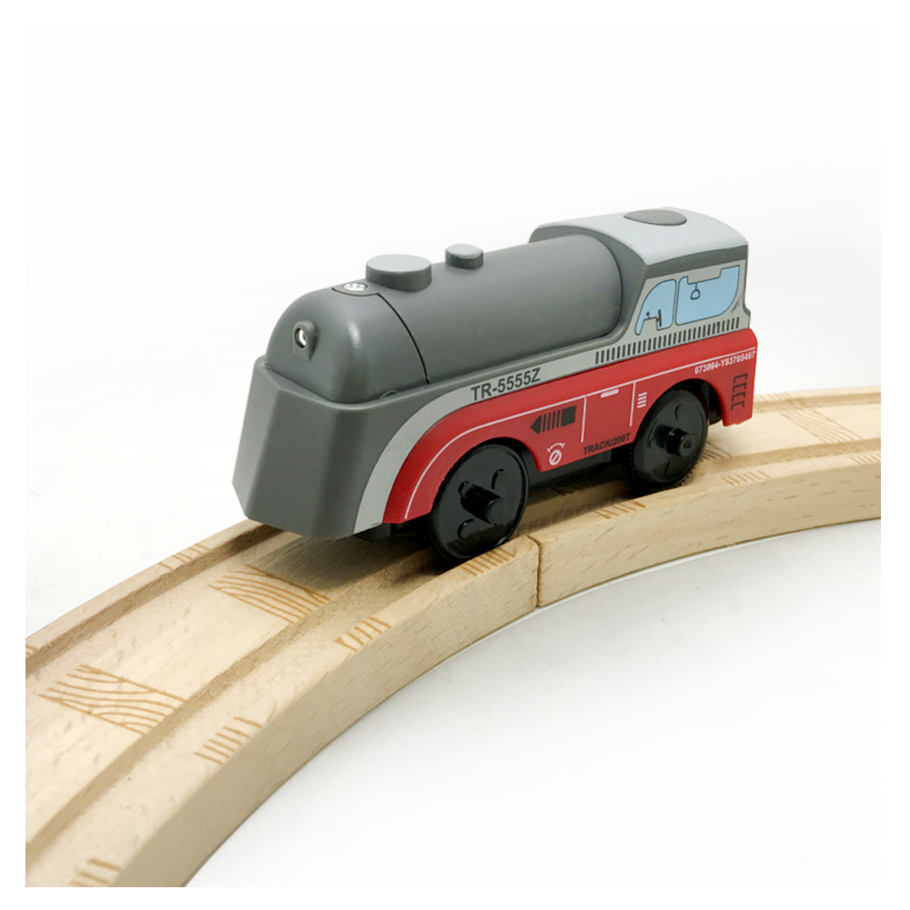 Combination of magnetic Electric Train Toys Magnetic Slot Diecast Toy Birthday Gifts For Kids Compatible wooden track W1