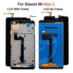 Image 3 - Xiaomi Mi Max LCD affichage écran tactile numériseur assemblée pour Xiaomi Mi Max 2 LCD Max2 Max 3 remplacement de lécran noir blanc