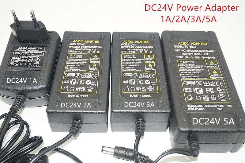 LED Power Supply Adapter DC5V / DC12V / DC24V 1A 2A 3A 5A 7A 8A 10A For 5V 12V 24V led strip lamp lighting led power driver plug