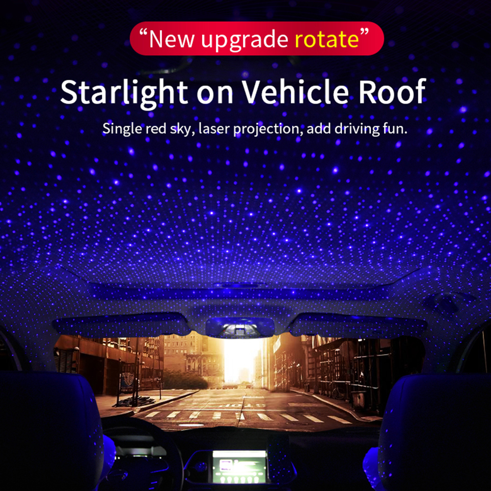 Flexible Lamp Embellishment for Bedroom and Party Portable Adjustable Galaxy USB Lamp Fit All Interior Vehicle Romantic Starry Sky Roof Decoration Atmosphere Night Light Projector Lights
