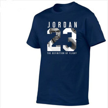 ФОТО    Clothing Jordan 23 Men T-shirt Swag T-Shirt Cotton Print Men T shirt Homme Fitness Camias Hip Hop Tshirt