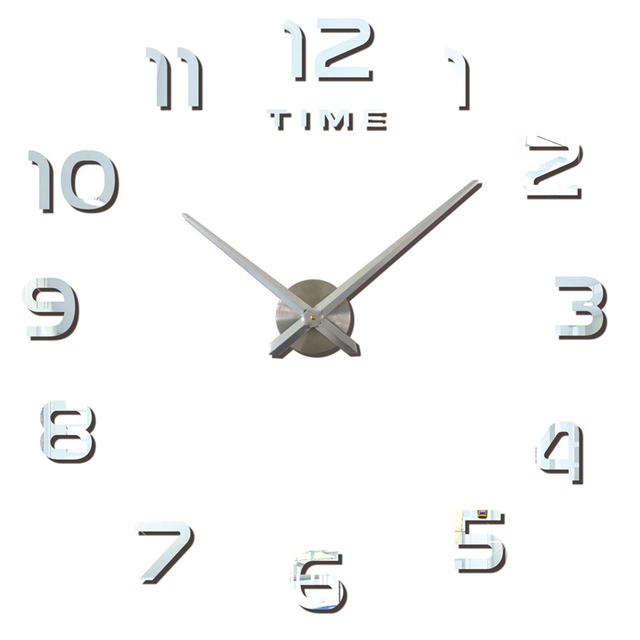 Modern Design Large 3D Decorative Wall Clocks