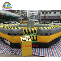Commercial 8 player inflatable wipeout course meltdown game for sale