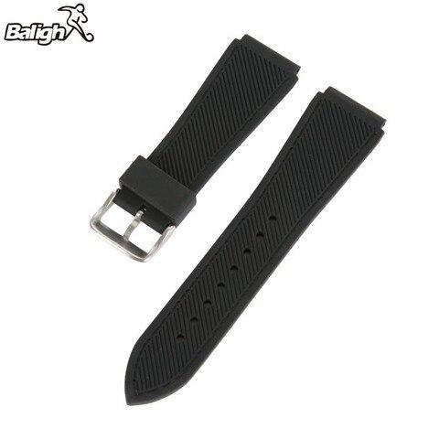 Newest Fashion Fashion Silicone  Watch Band Men Women Wristwatch Strap  18,20,22, 24mm Wrist Bracelet  Watches Accessories Lahore