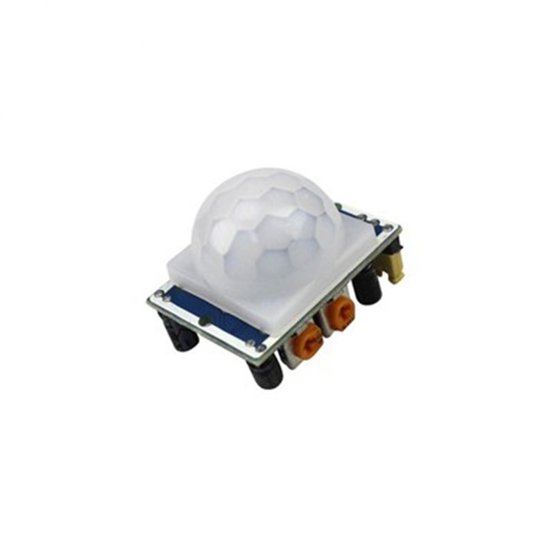 1pcs HC-SR501 Adjust Pyroelectric Infrared PIR module Motion Sensor Detector Module tracking module infrared detection sensor module diy for arduino 8 channel infrared detector hunt module 8bit sensor module