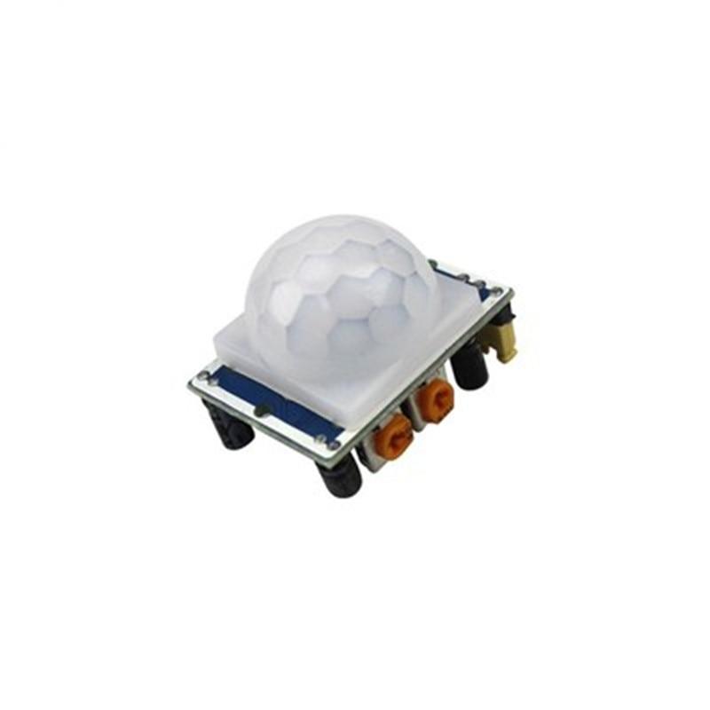 1pcs HC-SR501 Adjust Pyroelectric Infrared PIR module Motion Sensor Detector Module 1pcs hc sr501 pir sensor human body detecting module pyroelectric hc sr501 for arduino mcu for arduino