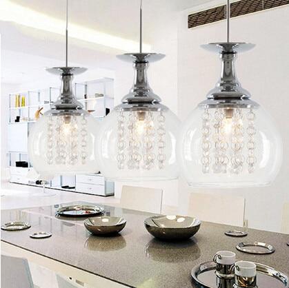 L mparas de techo modernas luces designtal para comedor - Lamparas colgantes para cocina ...