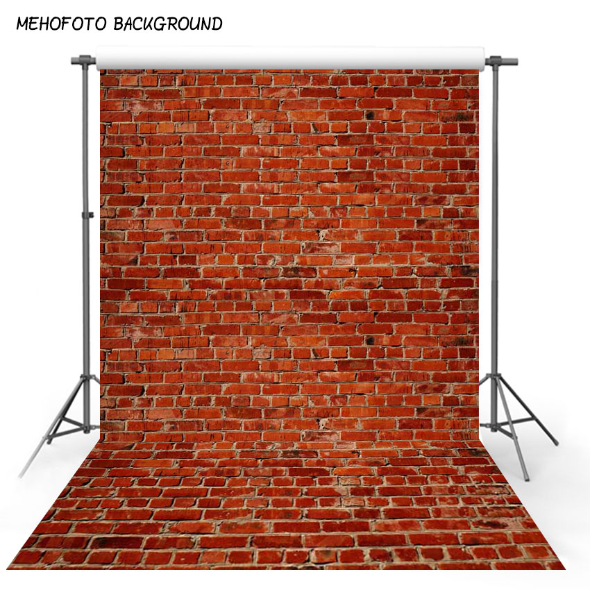 5X7ft Art fabric photography backdrops Red brick wall backdrop vinyl photography Backgrounds for Photo Studio F-1018 laeacco brick wall clock christmas tree indoor scene photography backgrounds vinyl custom camera backdrops for photo studio