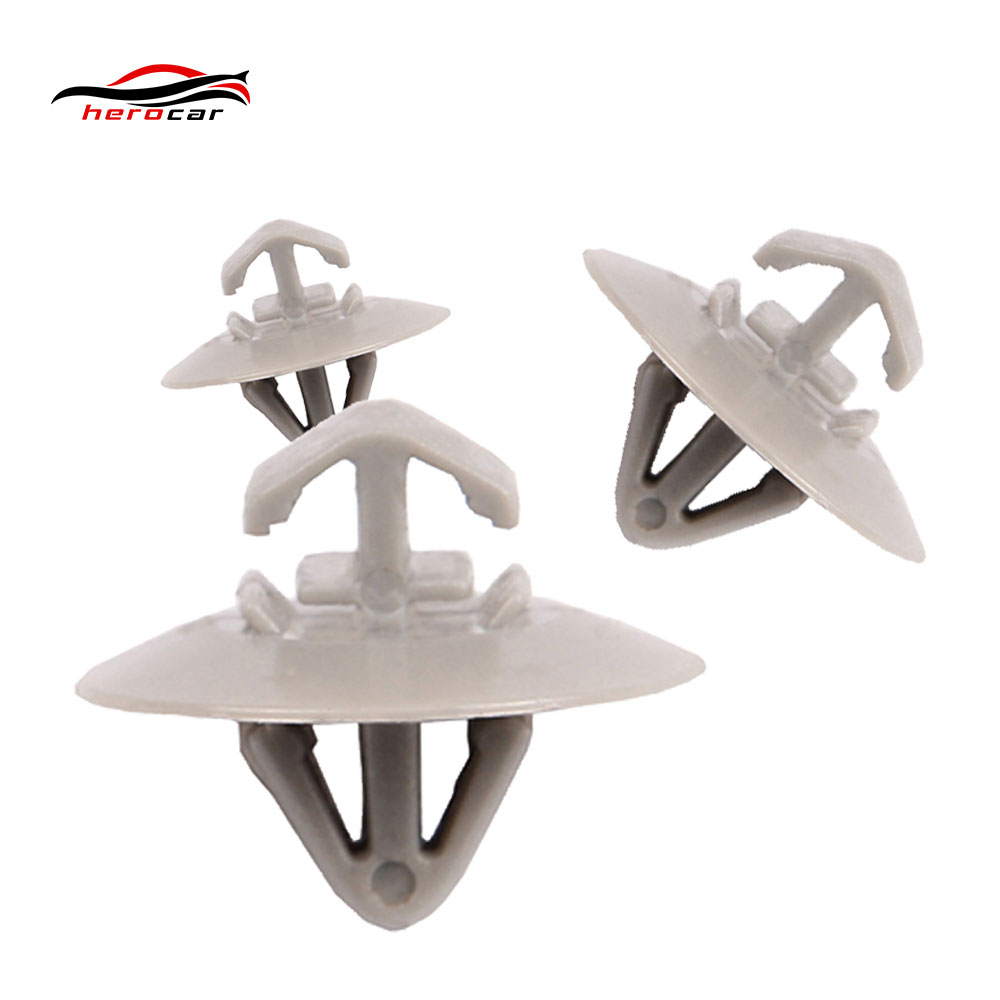 10x Clips for Renault Trafic Traffic Side Moulding Lower Protection Door Trim