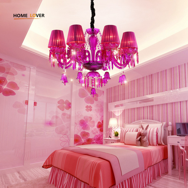 Neue Luxus K9 Kristall Kronleuchter Beleuchtung Rosa Kerze Led Anhanger Hangen Wohnzimmer Lustres De Cristal Lampe Leuchten Kinderzimmer