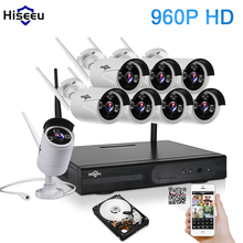 1T 2T 3T HDD 960P 8CH CCTV System Wifi Wireless NVR kit Outdoor IR Night Vision IP Camera wi-fi Camera kit Home Security System