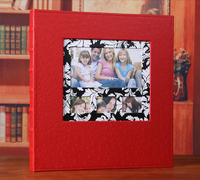 Frameless 600pcs Leather Cheap Photo Album Book Good Quality Family Large Capacity Phot Picture Gallery for 6 Inch Photos Decor