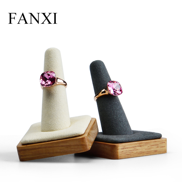 Exhibition Stand Information : Aliexpress.com : buy fanxi free shipping solid wooden ring display