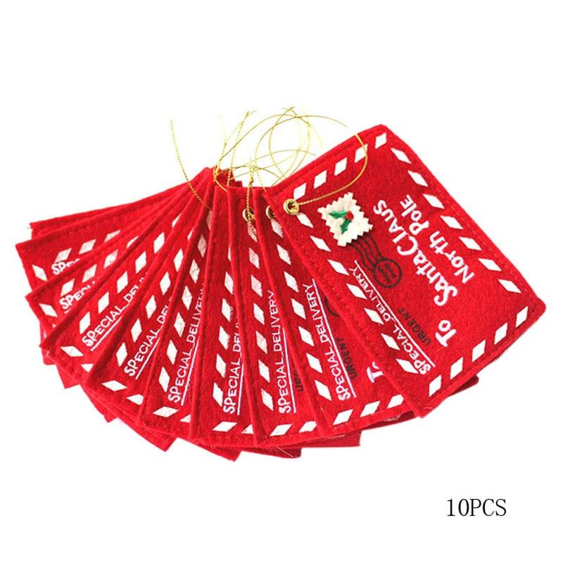 sobres del sobre de la navidad de santa claus promocional no tejido bolsa de caramelos de