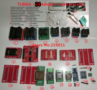 TL866A Programmer 20 Adapters IC Clip English Russian Manual High Speed TL866 AVR PIC Bios 51