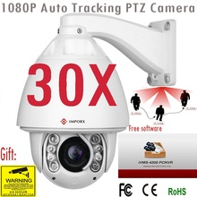2019 30X ZOOM 2MP 1080P PTZ Camera Auto Tracking IP 20X Zoom High Speed Dome P2P IR Motion Detection Onvif POE