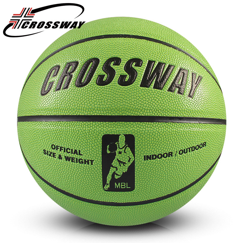 CROSSWAY fitness basketball ball size 7 New Basketball adults, teenager Indoor Outdoor sports Basketball Training Equipment 705