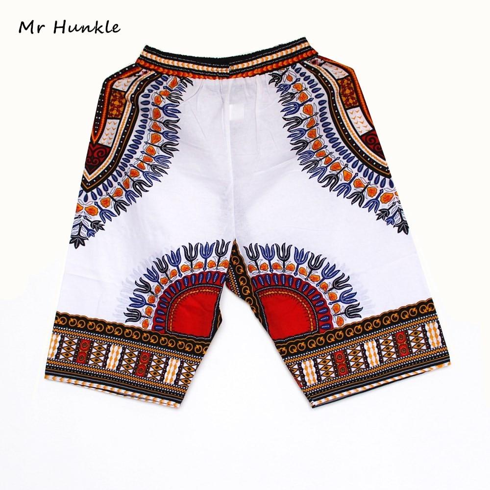 New Fashion Design African Traditional Print Cotton Dashiki Short Men's African Beach short free shipping