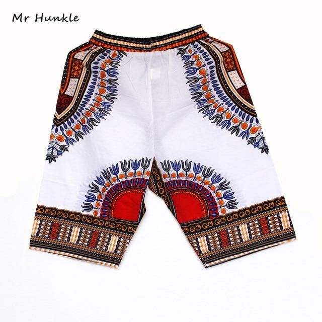 488802f3 New Fashion Design African Traditional Print Cotton Dashiki Short Men's  African Beach short free shipping