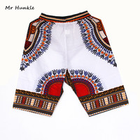 New Fashion Design African Traditional Print Cotton Dashiki Short Men S African Beach Short Free Shipping