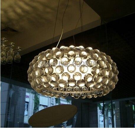 New Dia.65cm Foscarini Caboche Acrylic Ball Pendant Lamps Light Lighting 4pcs new for ball uff bes m18mg noc80b s04g