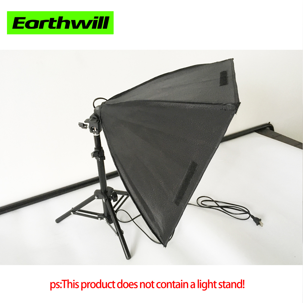 Photographic Equipment Mini Square 40*40cm E27 Single Lamp Power Small Item Shooting Softbox Soft Cover 1 Pcs