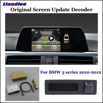 Backup Reversing Parking Camera For BMW 1 3 F20 F21 E90 E91 E92 E93 2010-2020 CIC NBT EVO Rear Reverse Camera HD Digital Decoder image