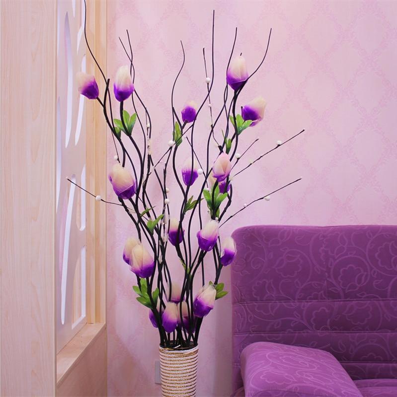 Simulasi Flowerartificial Bunga Hias Vena Kering Dihiasi Lantai Ruang Tamu Mikie Baru Rumah Dekoratif Di Onderdil Mesin Pencuci Sayur Dari Peralatan