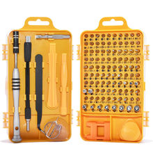 110 in 1 Screwdriver Set Multi-function Computer PC Mobile Phone Digital Electronic Device Repair Hand Home Tools Bit