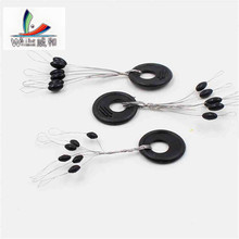 10 Group 60 PCS High Quality Original Plastic Resistance Oval Space Bean Float Not To Hurt Fishing Line Vertical Fish Accessorie