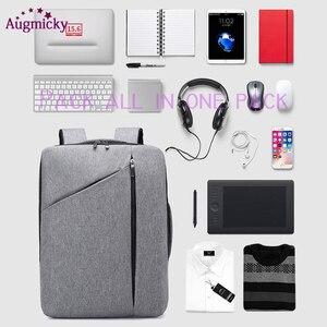 Image 2 - Anti Diefstal Multifunctionele Mannen 15.6Inch Laptop Rugzakken Voor Tiener Mode Mannelijke Stedelijke Rugzak Mannelijke Reizen Business School Tassen