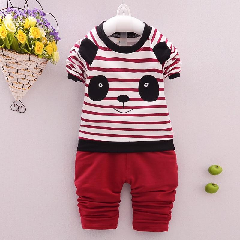 f7bbcd1ffba02 2019 enfants Coréens de vêtements en gros garçon à manches longues t-shirt  + Shirts 2 pièces ensembles roupas infantis menino 1-2-3-3.5Y