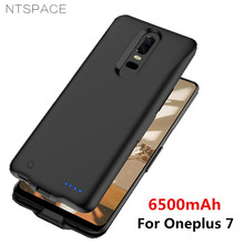 NTSPACE Battery Charger Cases For Oneplus 7 Case 6500mAh Power Bank Charging Cover One Plus External Powerbank