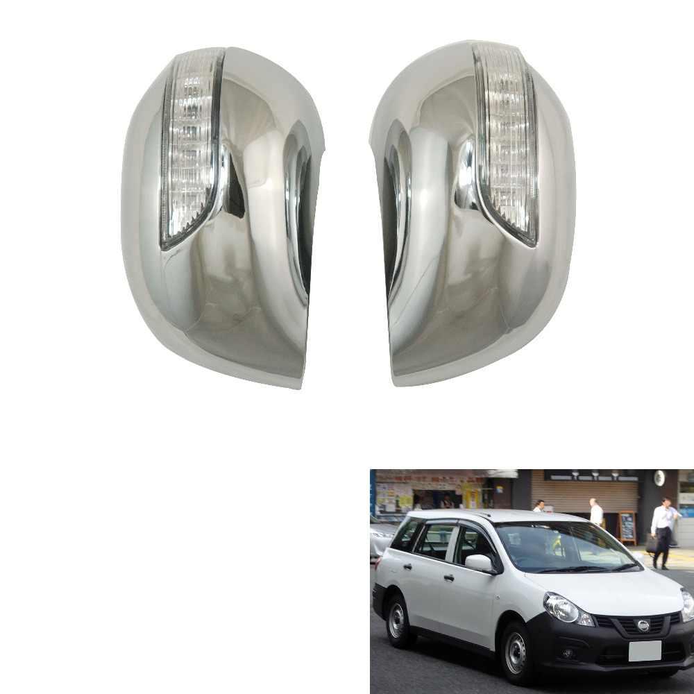 Новый стиль 2 шт. ABS хромированный для Nissan Wingroad/AD Van Y12 2006 дверные Зеркальные