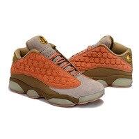 Jordan 13 низкая Новая баскетбольная обувь Открытый Спортивные кроссовки Золото Логотип Лидер продаж