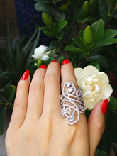 Sterling Silver Simulated stones rings