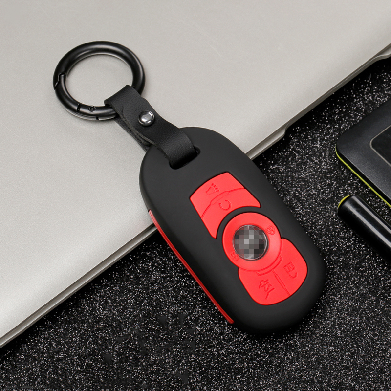 Image 5 - Carbon stripe Matte texture car remote key fob cover case holder protect for for OPEL Astra Buick ENCORE ENVISION NEW LACROSSE-in Key Case for Car from Automobiles & Motorcycles