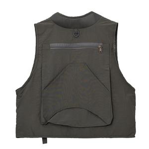 Image 2 - 야외 낚시 양복 조끼 민소매 메쉬 남자 낚시 자켓 멀티 포켓 조끼 사진 낚시 사냥 등산
