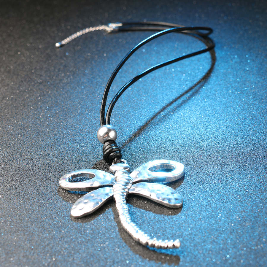 pendant tinksjewelry gardening necklace dainty silver products dragonfly