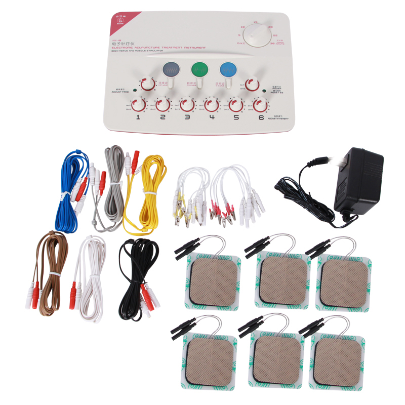 20 OFF 6 Output Warm needle microcomputer Electrical acupuncture needle moxibustion moxa Therapeutic apparatus Device SDZ