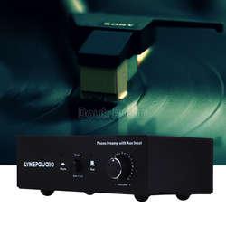 Мм RIAA проигрыватель аудио предусилитель с AUX Вход аудио сигнал предварительного усилителя Volumer
