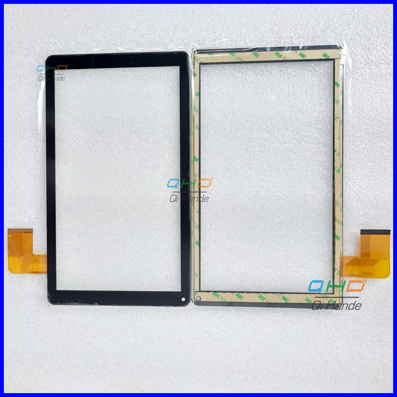 Free Shipping 1pcs Capacitive touch panel Digitizer Sensor Replacement For 10.1'' Denver TAQ-10172 mk2 Tablet PC Touch Screen new 9 touch screen digitizer replacement for denver tad 90032 mk2 tablet pc