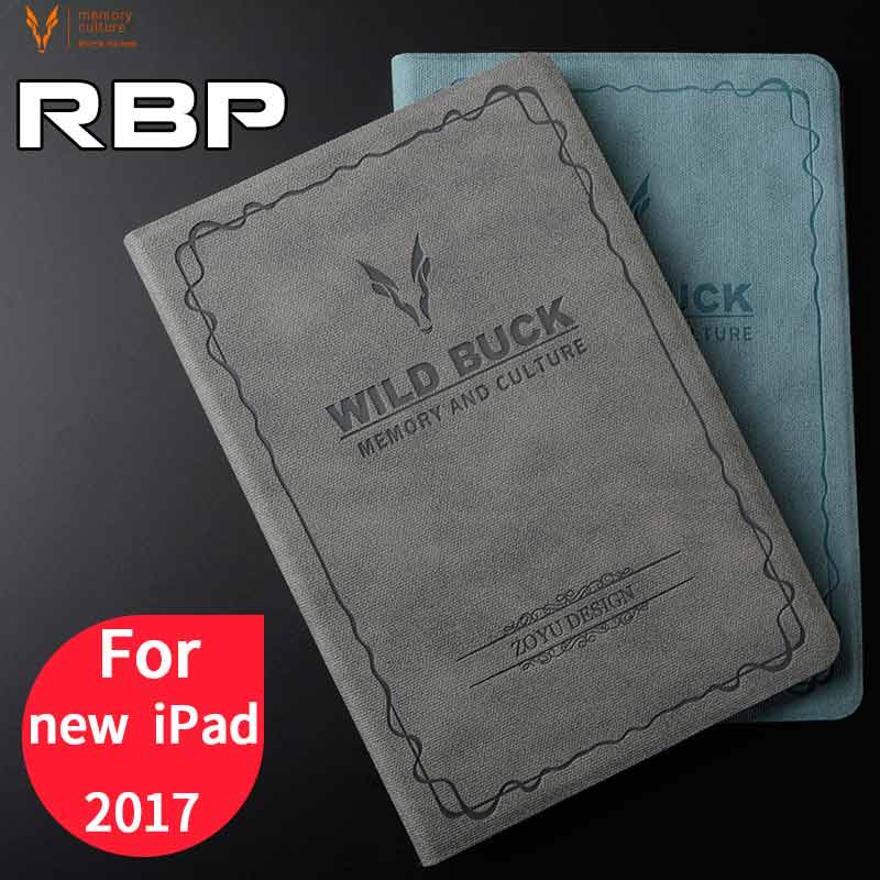 RBP case for iPad 2017 cover for apple iPad 2017 case 9.7 inch  All-inclusive ultra-thin for new iPad 2017 case 9.7 model A1822 back shell for new ipad 9 7 2017 genuine leather cover case for new ipad 9 7 inch a1822 a1823 ultra thin slim case protector