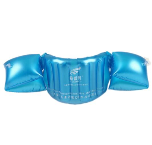 Child Inflatable Swim Vest Arm Float Ring Baby Boy Girl Swimming Circle Float Swim Trainer Buoyancy Swimming Pool Accessories
