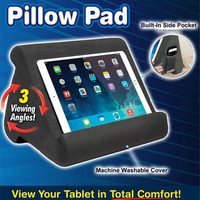 IPad Tablet Stand Pillow Holder Phone Pillow Lap Stand Multi Angle Soft Pillow Pad Lap Stand Smartphone Iphone Holder
