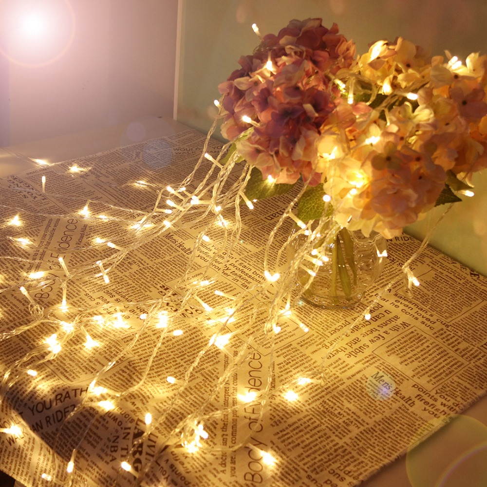 10M Holiday Light Fairy LED String Lights Lantern For Christmas Ramadan Wedding Party Outdoor Decoration Festival 220V 110V JQ